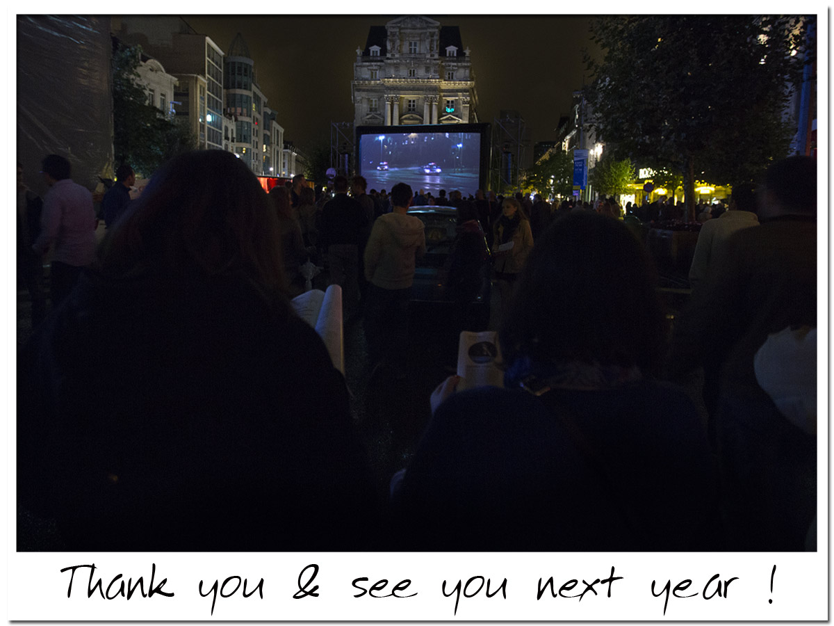 Nuit Blanche Brussels 2014 - Thank you!